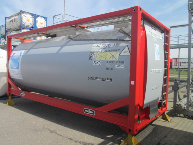 24000 liters T14 Lining tank container TANK CONTAINER WITH LINING COATING