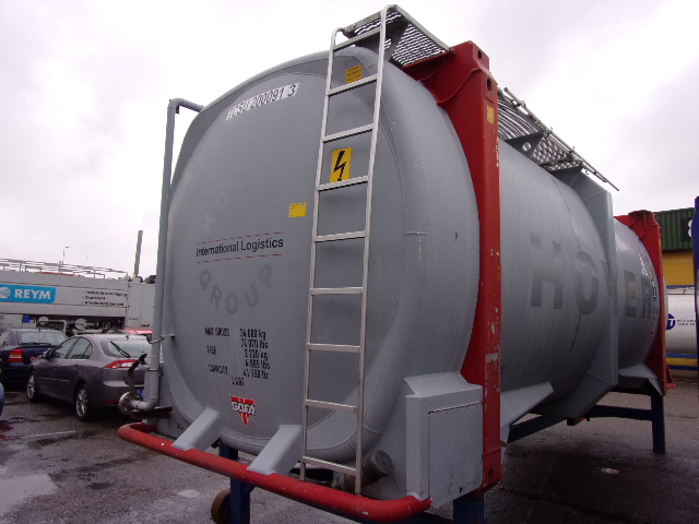 41150 liters SWAP Body SILO tank container