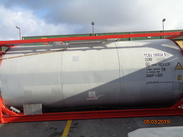 26000 liters T11 Tank Container