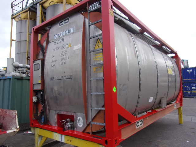 24000 liters IMO-1 tank container with baffles ELECTRICAL HEATING SYSTEM