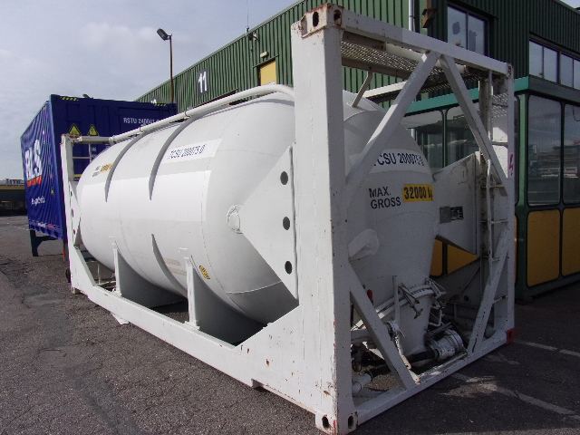 24500 liters SILO BULK POWDER tank container