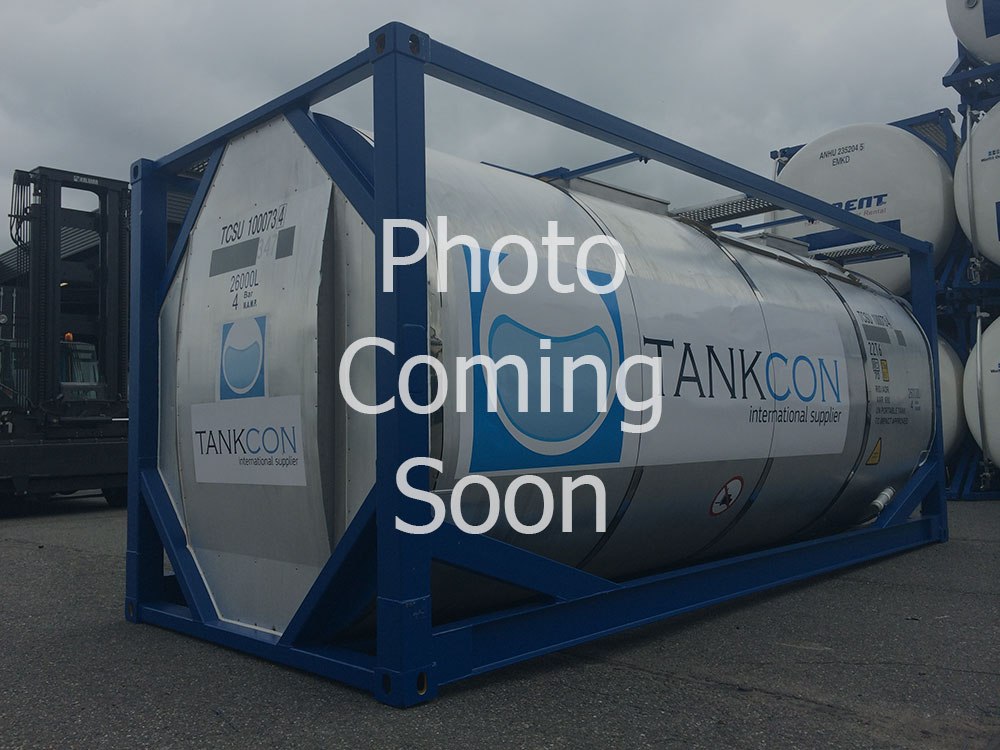 24000 liters IMO-1 tank container