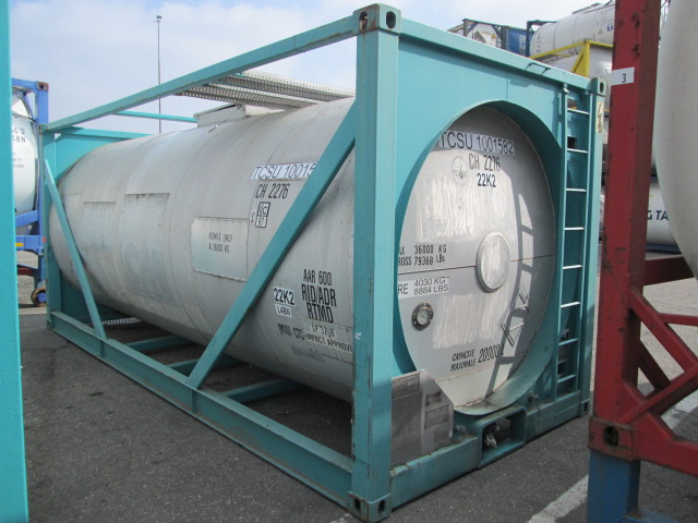 20000 liters IMO-1 tank container