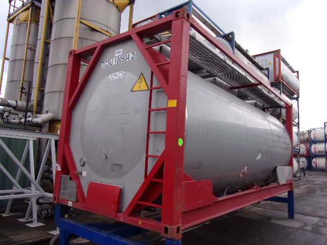 21000 liters T7 tank container