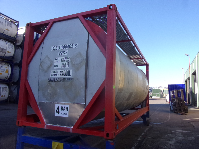 24000 liters IMO-1 T11 tank container