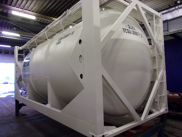 24500 liters 20 feet SILO-BULK-POWDER tank container