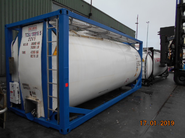 24000 liters T11 Reefer Tank Container